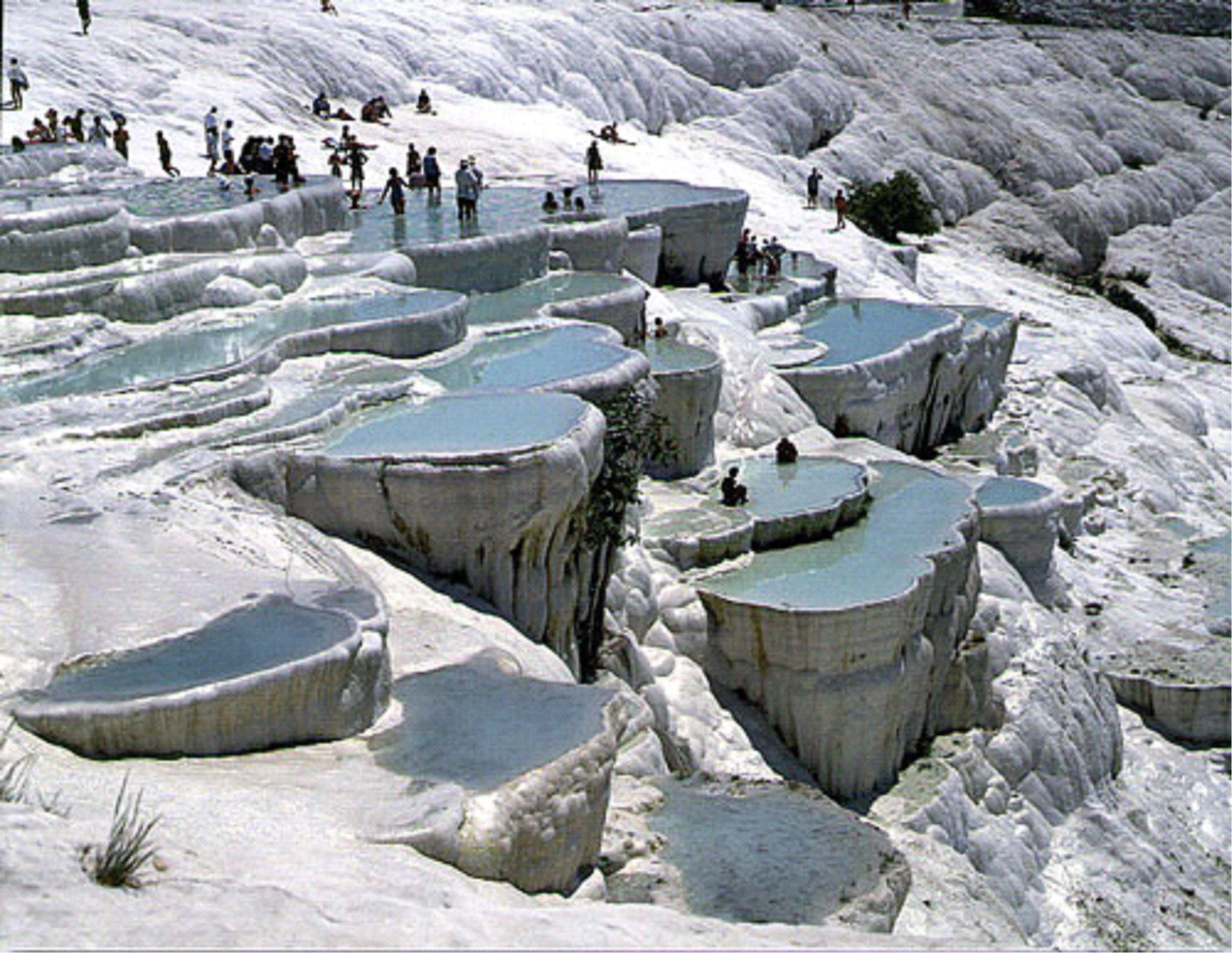 Pamukkale the wander life for Warm places to visit in december in usa