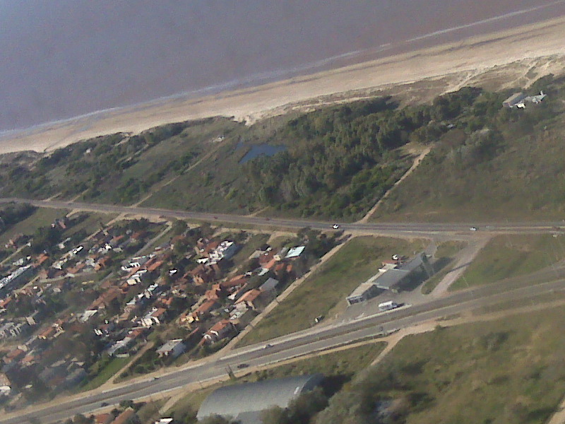 View of MONTEVIDEO COASTLINE FROM THE SKY