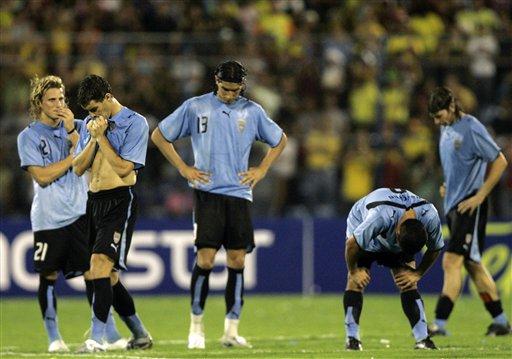 URUGUAY-SOCCER-TEAM