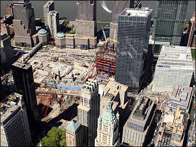 A view of Ground Zero