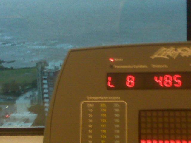 Sheraton gym cycling machine