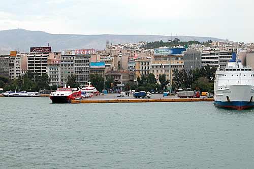 Athens port Piraeus