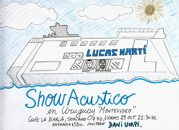 Lucas Marti Montevideo flyer