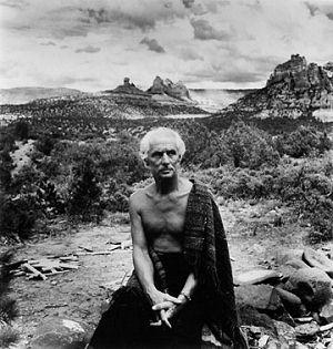 Max Ernst en Sedona, Arizona
