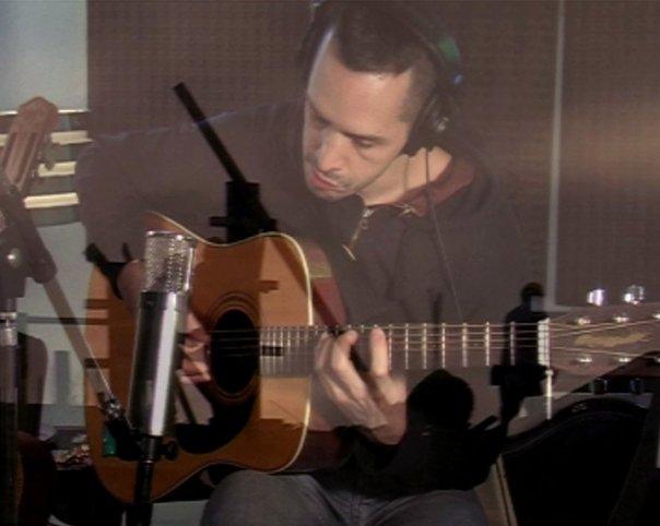 Lucas Martí en el estudio