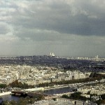 Panoramic view from Montmartre (Photo by ERWEH)