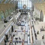 The sunshine inside Musée d´Orsay