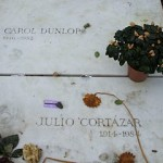 An emotional moment for me: resting place of Julio Cortazar and his wife Carol Dunlop