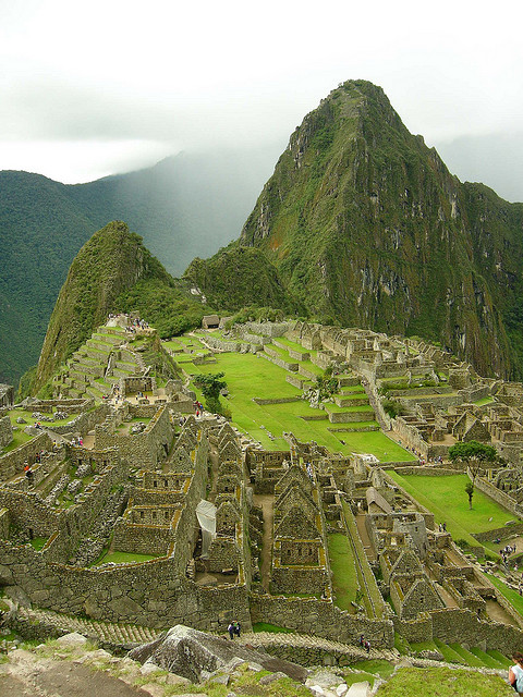 A view of Macchu Picchu by Einalem