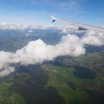 Swiss greenness from above