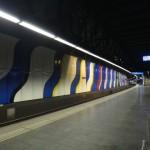 Zurich airport train platform
