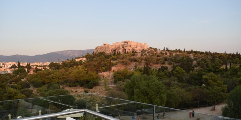 The Acropolis seen from Thisio View