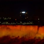 niagara falls night color