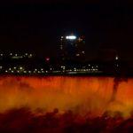 niagara falls night color