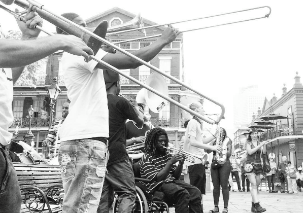 Free to use, commons license, New Orleans photo